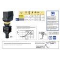 Elektryczny zawór regulacyjny/proporcjonalny (żółty) 873