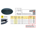 """""""Smooth Line 2"""" closed lid-top fixing ARAG"""