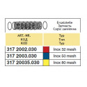 Вклад фільтра всмоктуючого 108x286, 50-mesh(сітка) ARAG