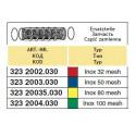 Вклад фільтра високого тиску 39x122, 80-mesh (сітка) ARAG
