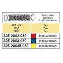 Вкладыш напорного фильтра 52x150, 100-mesh ARAG/ АРАГ