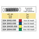 Вклад секційного фільтра резервуара відстійника 30x70, 100-mesh (сітка) ARAG