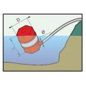 Suction floating short filter ARAG