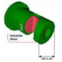 Rozpylacz uderzeniowy o szerokim kącie aplikacji APM ALBUZ