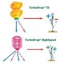 Rozpylacz eżektorowy dwustrumieniowy asymetryczny TurboDrop HiSpeed AGROTOP