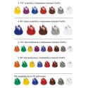 Плоскоструйные распылительные наконечники расширенного диапазона давлений XR TEEJET/ Тиджет