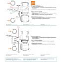 Elektryczny zawór kulowy 2-drożny przyłącze kołnierzowe, UHMW, ARAG