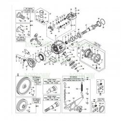 6 Holes-NON Throughshaft 6 Fori - 6 Holes 00010322 COMET