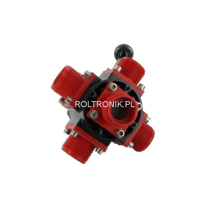 Zawór kulowy 5-drożny 1 1/4″ VTDC1300