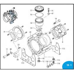 Diaphragm  Saturflon AR160bp/AR185bp 550191 Annovi Reverberi