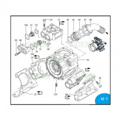 Air valve AR713 1800350 Annovi Reverberi