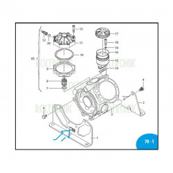 Connecting-rod AR1604 3920020 Annovi Reverberi