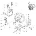 Głowica cylindra prawa  AR30 620101 Annovi Reverberi