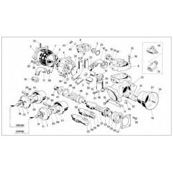ACCUMULATORE SUPERIORE PUMP 105-120 SD 950003092 BERTOLINI
