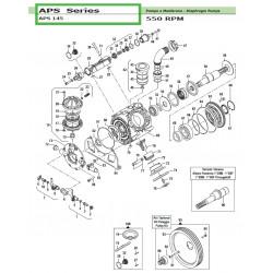 Complete Left Tap  APS 145 12140016 Comet