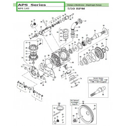 Connecting Rod Assembly APS 145 02050064 Comet