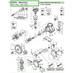 Compression Ring Ø78 IDS 1201 - IDS 1401 00200012 Comet