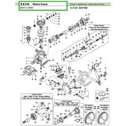 Complete Left Tap  IDS 1300 12140016 Comet