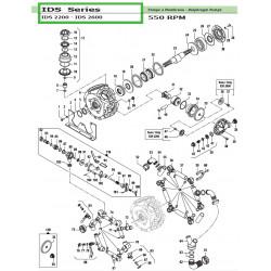 Complete Left Tap  IDS 2200 - IDS 2600 12140016 Comet