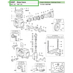 Cylindric Cardan Kit Ø30 MP 20 - MP 30 50030014 Comet