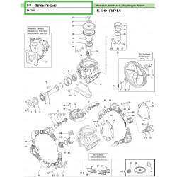 Connecting Rod Ass.y 3 pezzi - 3 pcs P 36 02050075 Comet
