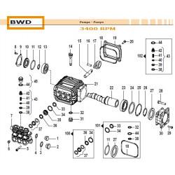 Crankcase Flange BWD 10040012 Comet