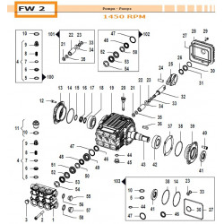 Con. Rod Assembly  FW2 02050046 Comet