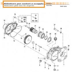 External Gear 04090026 Comet