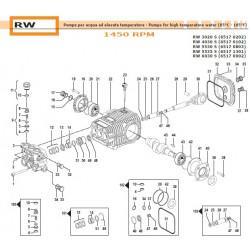 Complete Valve Kit Basse Portate Low Flow  50250011 Comet