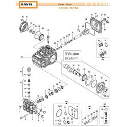 Complete Valve Kit Basse portate - Low Flow RWN 50250011 Comet