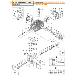 Complete Valve Kit   50250073 Comet