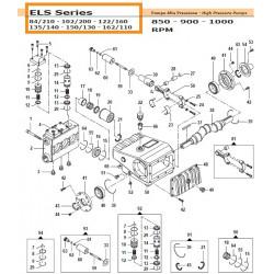 Crankcase Cover  ELS 04020422 Comet