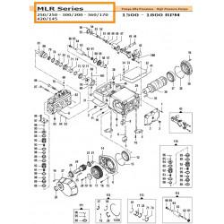 Crankcase Cover MLR 04020427 Comet
