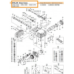 Con. Rod Kit MLR 02050091 Comet