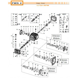 Con. Rod Assembly  FWS2 02050046 Comet