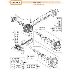 Crankcase Cover  FWD2 04020169 Comet