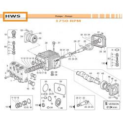 Crankcase Cover HWS 04020169 Comet