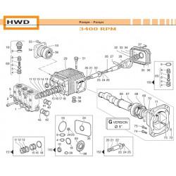 Crankcase Cover  HWD 04020169 Comet