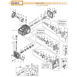 Complete Valve Kit Basse portate - Low Flow RWS 50250011 Comet