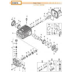 Complete Valve Kit Basse portate - Low Flow SWS 50250011 Comet