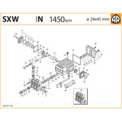 Complete valve  1949051 SXW Annovi Reverberi