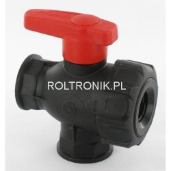 3-way ball valve 1/2″, ARAG