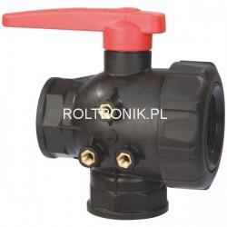 3-way ball valve 1 1/2″, ARAG