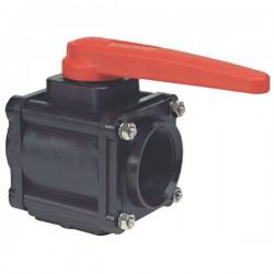 "2-way ball valves 2 1/2""F 453, ARAG"