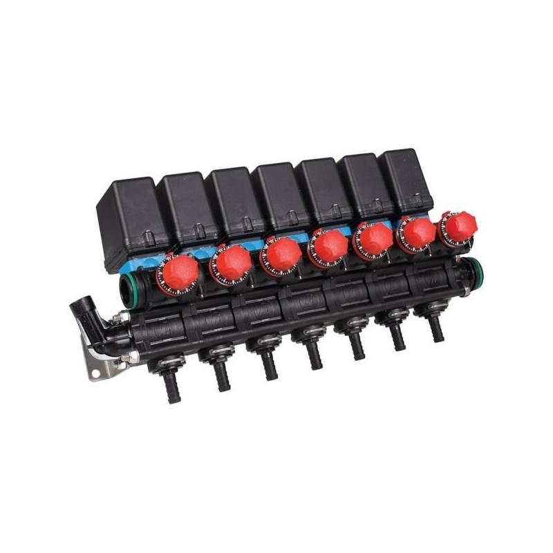 Blok elektrozaworów 7 - sekcji