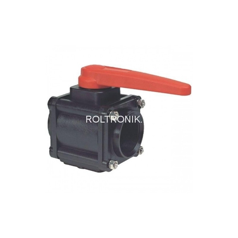 2-way ball valves 1 1/4″F 453, ARAG