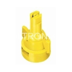 Air induction flat spray nozzle molded in AIC TEEJET cap