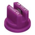 Extended pressure range flat spray nozzle XR TEEJET