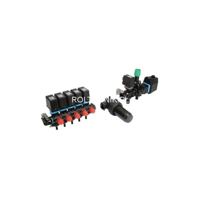 Elektryczny osprzęt regulacyjny 5 sekcji, 200l/min, 20bar, ARAG