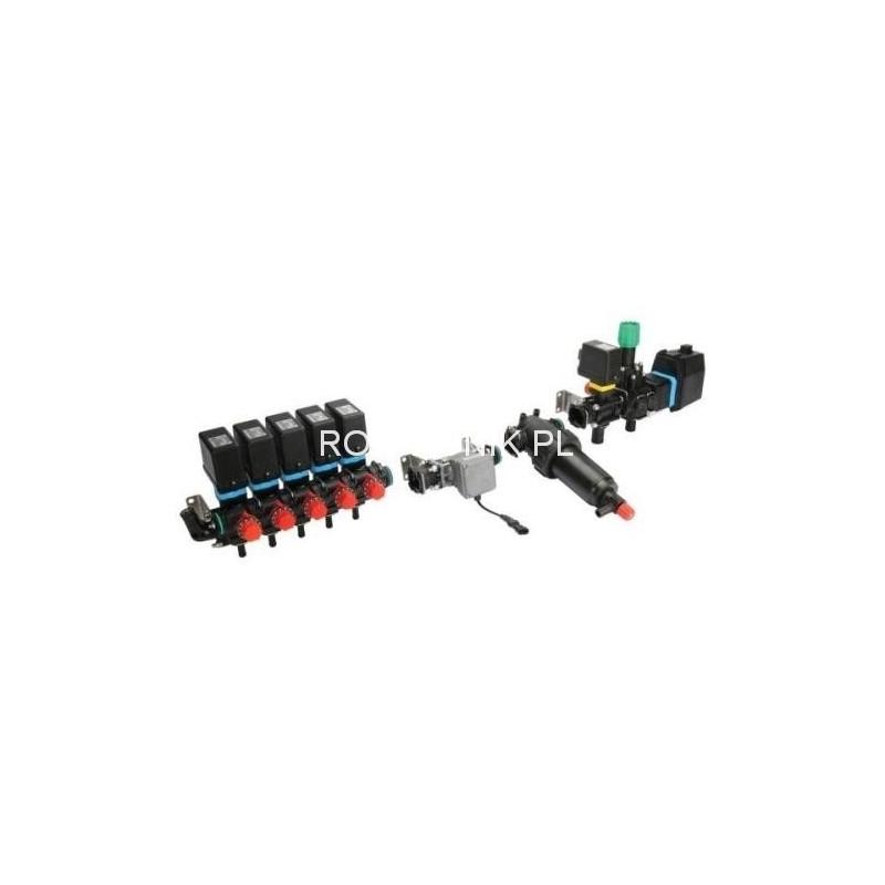 Elektryczny osprzęt regulacyjny 5 sekcji, 200 l/min, 20 bar, ARAG